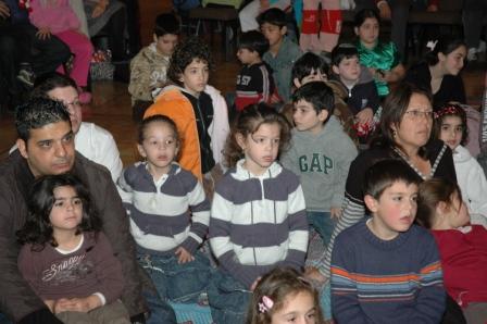 גלרייה - מסיבת חנוכה לילדי הבורסה 23.12.08 תמונה 56 מתוך 68