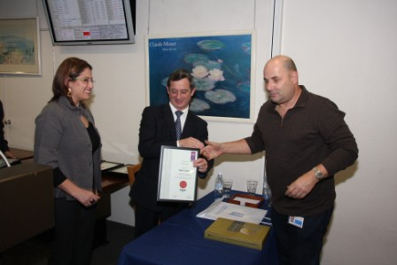 גלרייה - חלוקת תעודות מגשר 22.11.2009 תמונה 17 מתוך 69