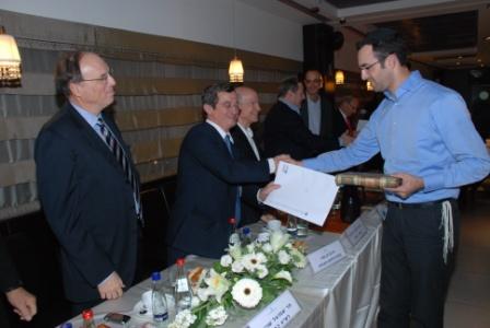 גלרייה - טקס סיום קורס (26 ו-27) חברים חדשים 21.12.2009 תמונה 68 מתוך 76