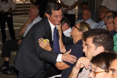 """גלרייה - טקס הנצחת כניסת בנין מכבי ע""""ש שמחה לוסטיג ז""""ל 5.10.2010 תמונה 31 מתוך 59"""