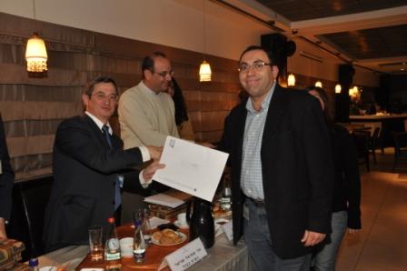 גלרייה - טקס סיום קורס 30 חברים חדשים 14.12.2010 תמונה 34 מתוך 58