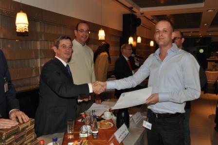 גלרייה - טקס סיום קורס 30 חברים חדשים 14.12.2010 תמונה 49 מתוך 58