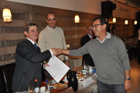 גלרייה - טקס סיום קורס 30 חברים חדשים 14.12.2010 תמונה 55 מתוך 58