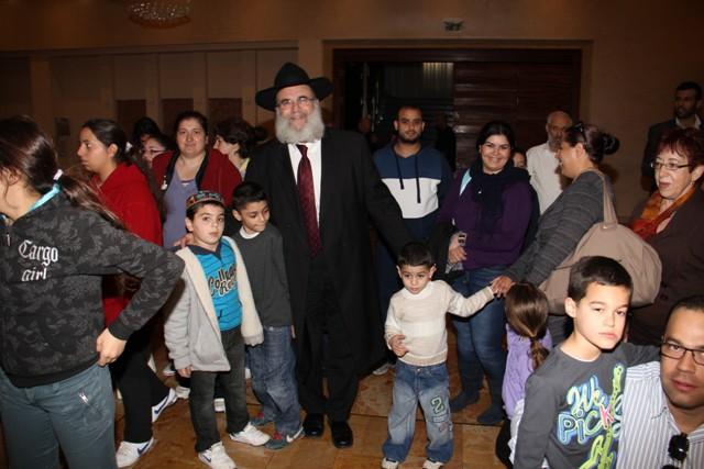 גלרייה - מסיבת חנוכה בורסת היהלומים 22.12.2011 תמונה 8 מתוך 93