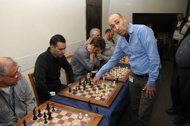 גלרייה - טורניר השחמט 24-26.12.2012 תמונה 15 מתוך 22