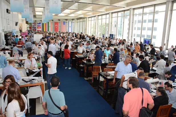 גלרייה - היום הראשון של שבוע היהלומים הבינלאומי (המשלחת מתורכיה) 30.8.15 תמונה 10 מתוך 19