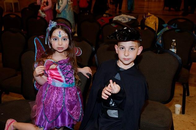 מסיבת פורים לילדי הבורסה 25.3.2016