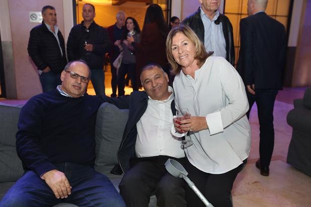 גלרייה - קבלת פנים חגיגית למשתתפי התערוכה הבינלאומית ה-7 התקיימה במלון לאונרדו 6.2.2018 תמונה 31 מתוך 82
