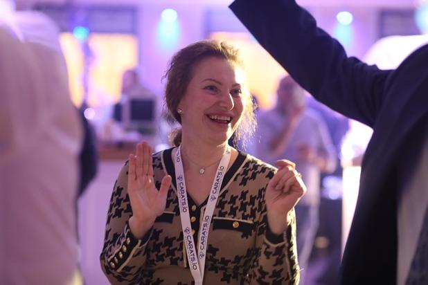 גלרייה - קבלת פנים חגיגית למשתתפי התערוכה הבינלאומית ה-7 התקיימה במלון לאונרדו 6.2.2018 תמונה 82 מתוך 82