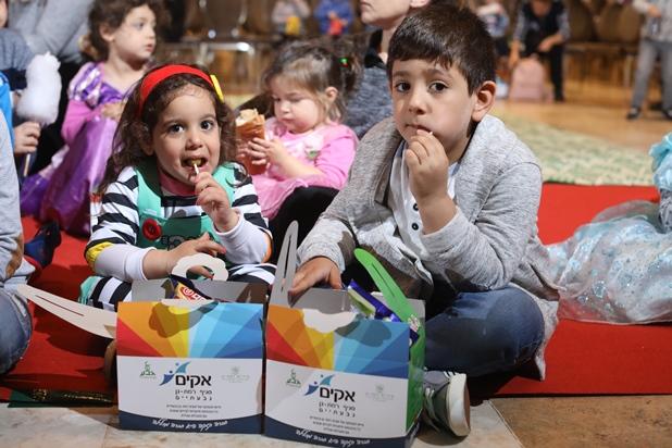 גלרייה - מסיבת פורים לילדי הבורסה 2.3.2018 תמונה 16 מתוך 26