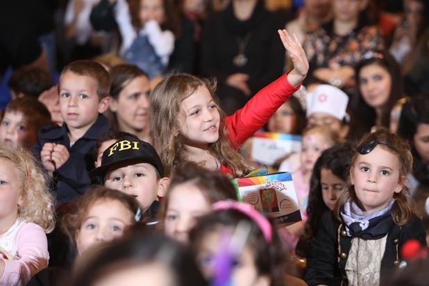 גלרייה - מסיבת פורים לילדי הבורסה 2.3.2018 תמונה 24 מתוך 26