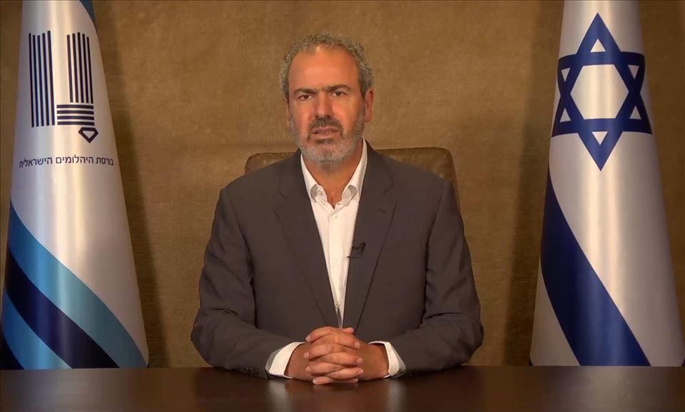 נשיא בורסת היהלומים הישראלית  יורם דבש בפנייה ליהלומנים